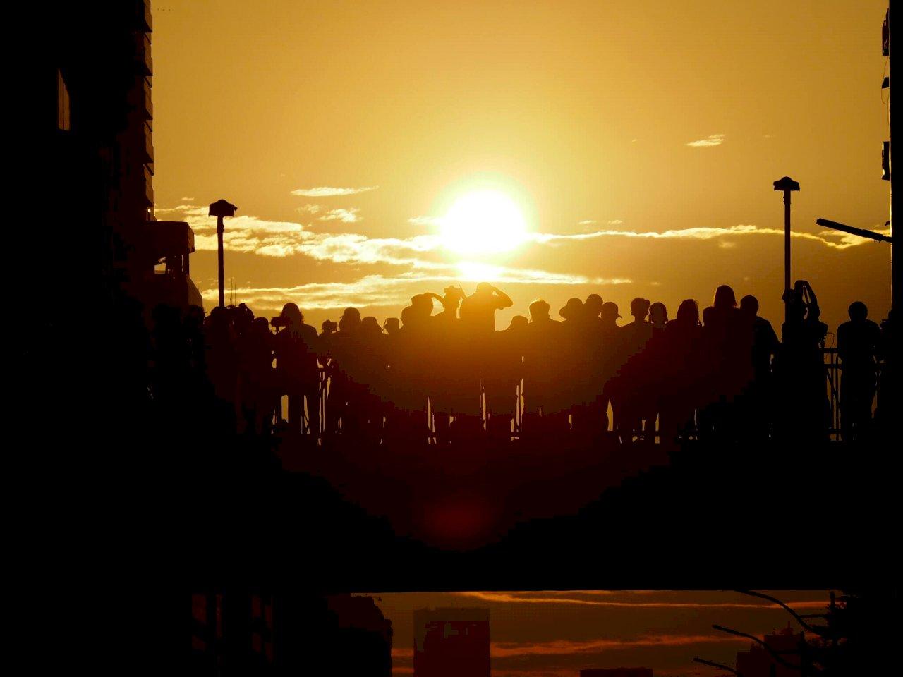 今年首場懸日14日起在桃園 觀賞時段、拍照建議一次看