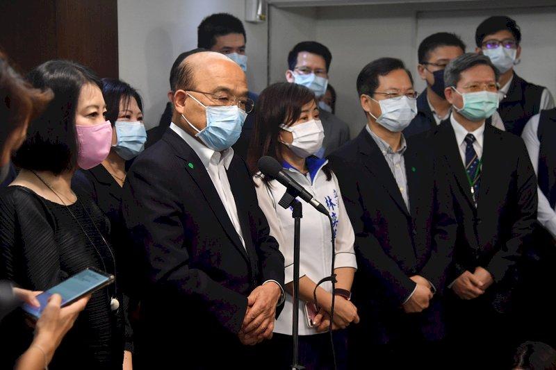 殺警案一審無罪 蘇貞昌:失望錯愕、支持檢方上訴