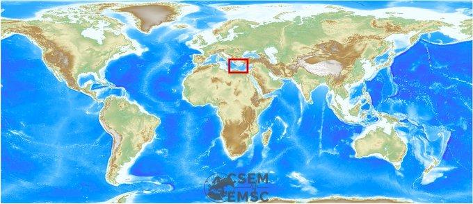 希臘克里特島發生規模6強震