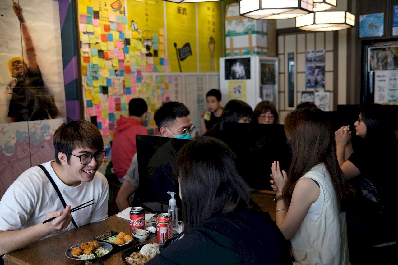 港區國安法影響 香港有餐飲店退出黃色經濟圈