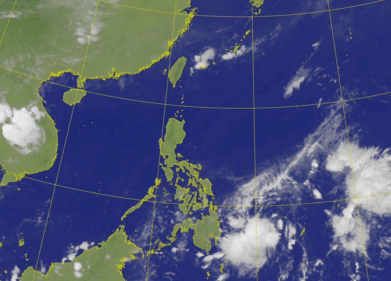菲律賓東方海面出現低壓  成颱與否待觀察