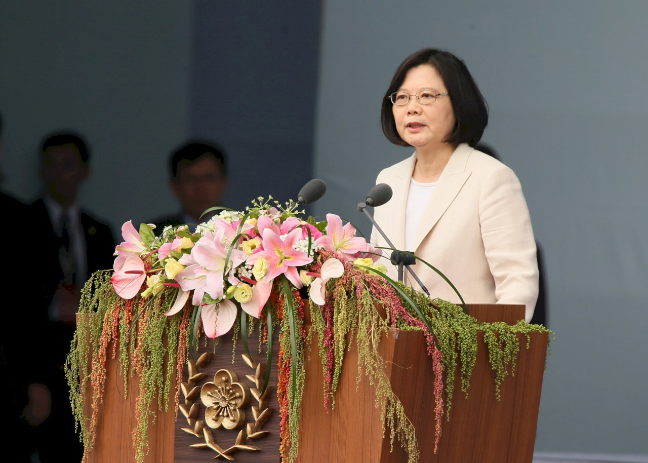 就職演說感謝全民抗疫 總統:台灣是共同體 團結共創光榮