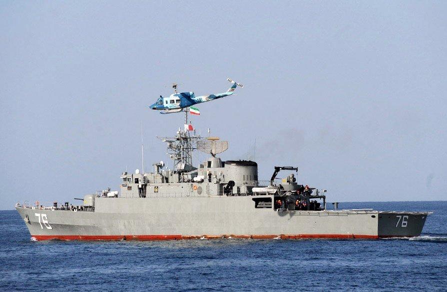 伊朗海軍演習誤擊自家艦 40人失蹤恐死傷慘重