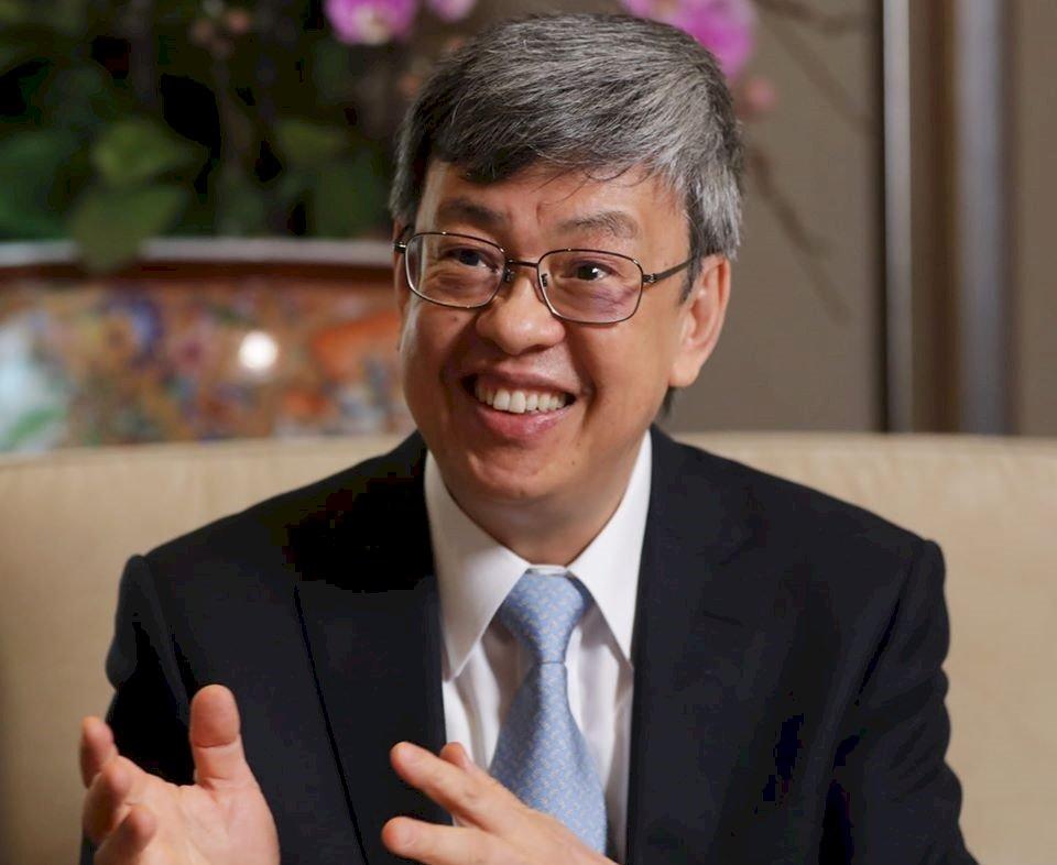 副總統陳建仁520後回任中研院 放棄卸任禮遇