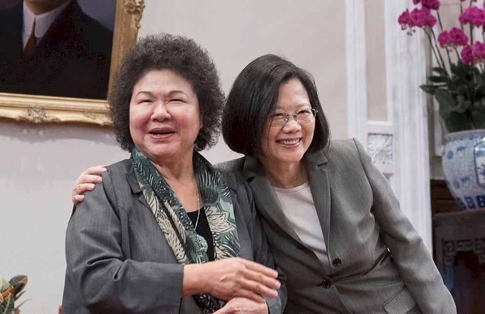 陳菊不續任府秘書長 總統:不捨但尊重意願