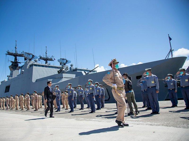 敦睦艦隊3艘軍艦 國防部:今起恢復戰備