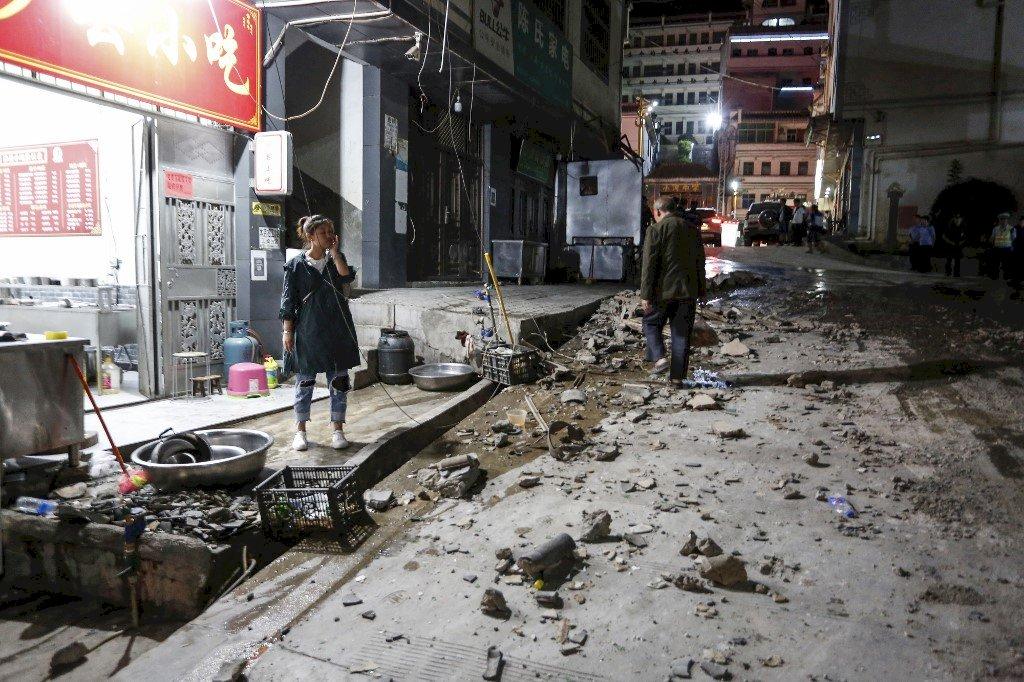 雲南昭通發生規模5極淺層地震 已4死24傷