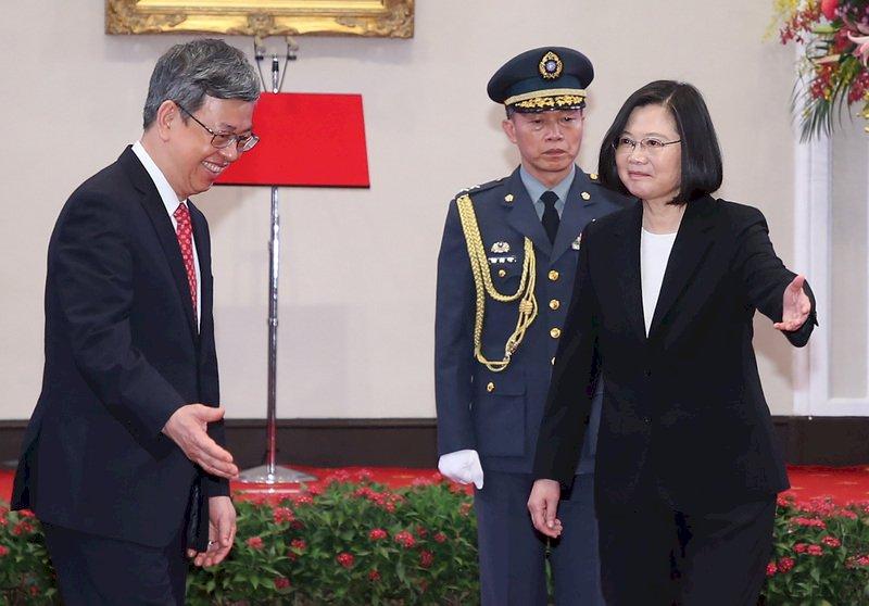 卸任副總統 陳建仁:難忘的4年 永遠感恩(影音)