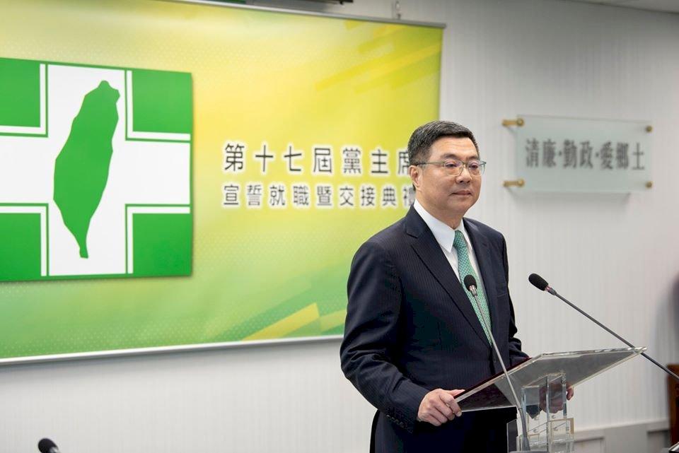民進黨前主席卓榮泰卸任 將從改革行動中告別