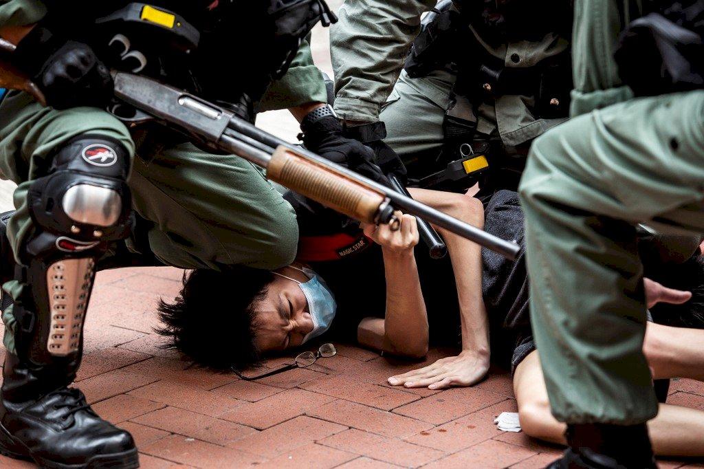 香港反送中運動逾萬人被捕 614人被定罪