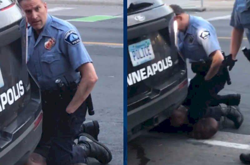 美員警壓頸致非裔男亡 影片曝光引發眾怒
