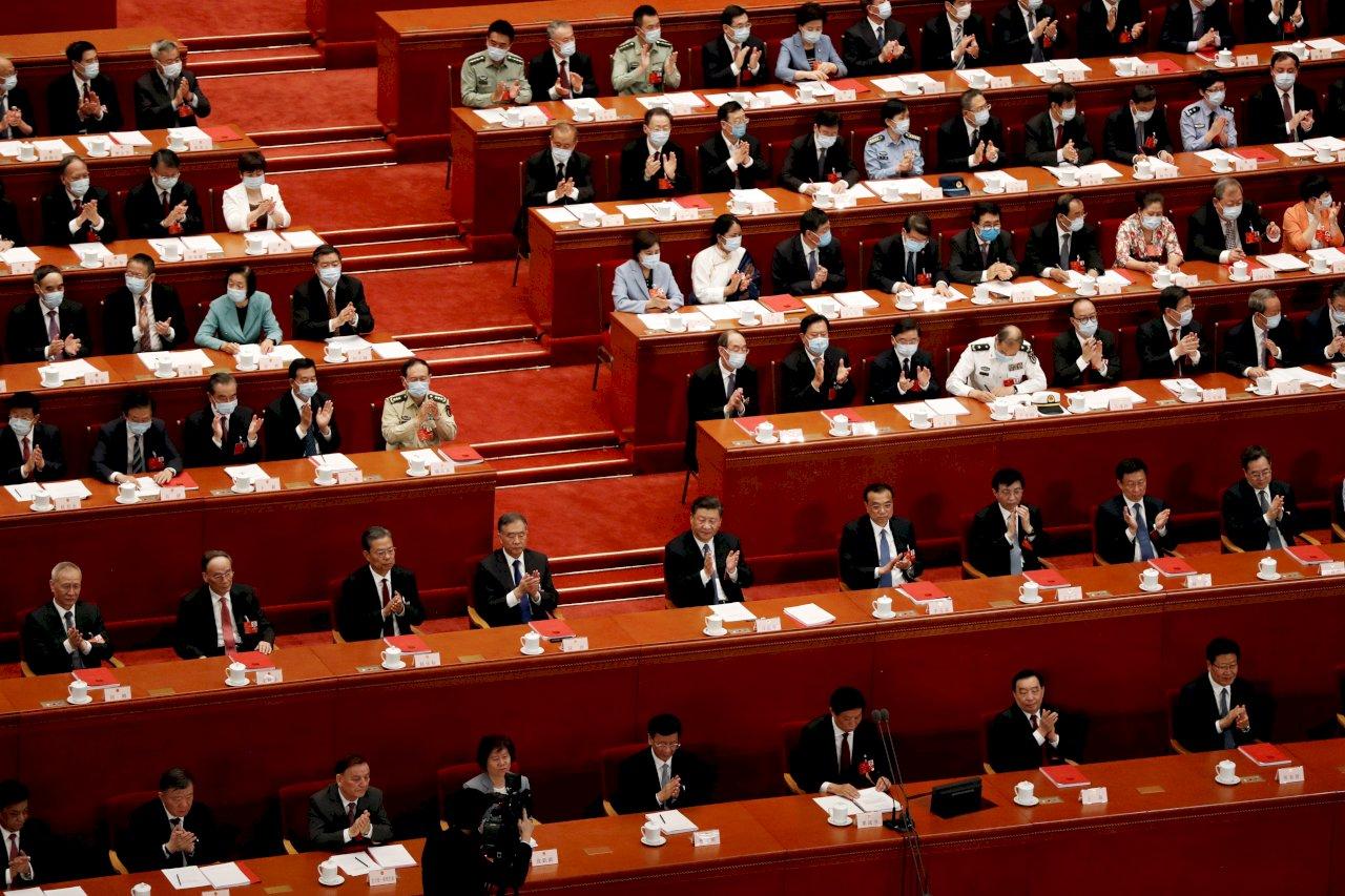中國人大審議港區國安法 幾近定稿即將通過