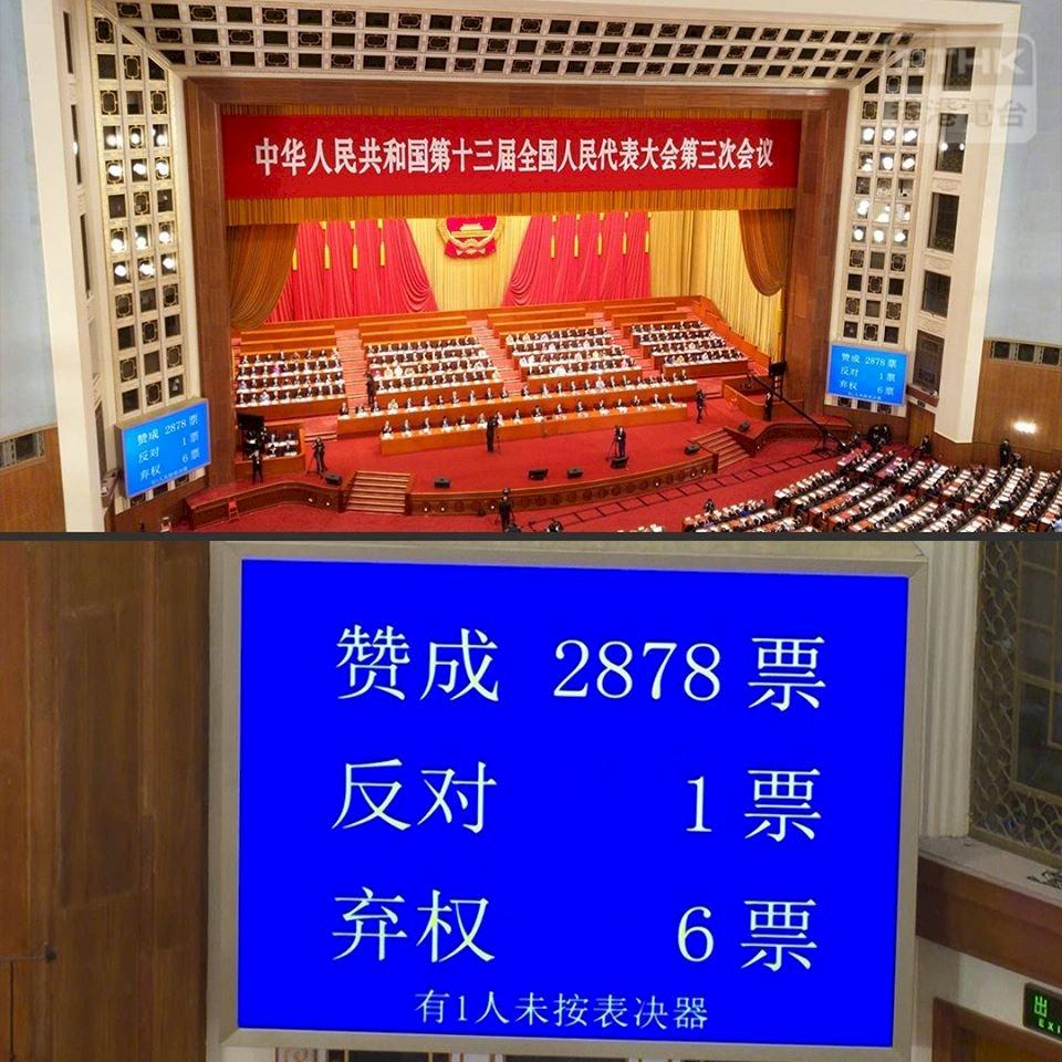 國安法通過 港人大難不遠 學者:台灣的道義與責任 朝野共撐香港