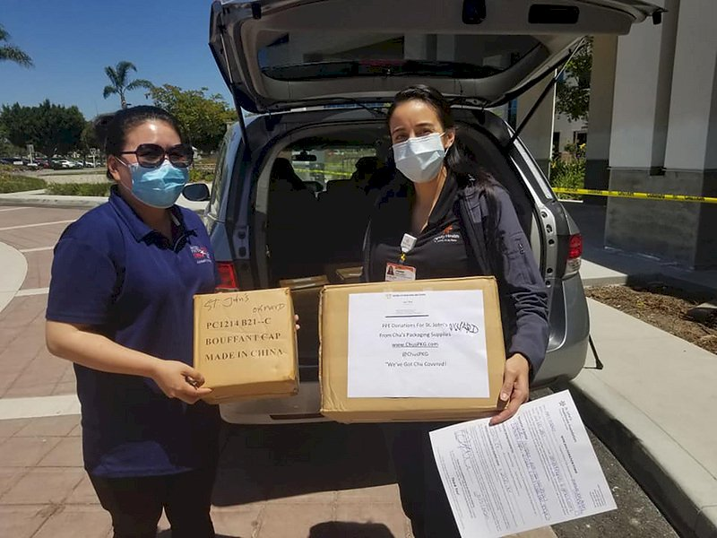 孟心韻受第一線員警感動 跑遍洛杉磯幫助抗疫