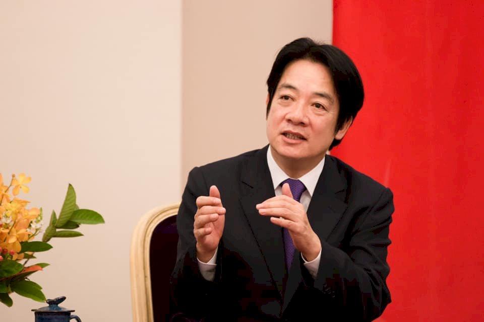 賴清德:中國踐踏民主潮流 盼港人不要放棄信仰