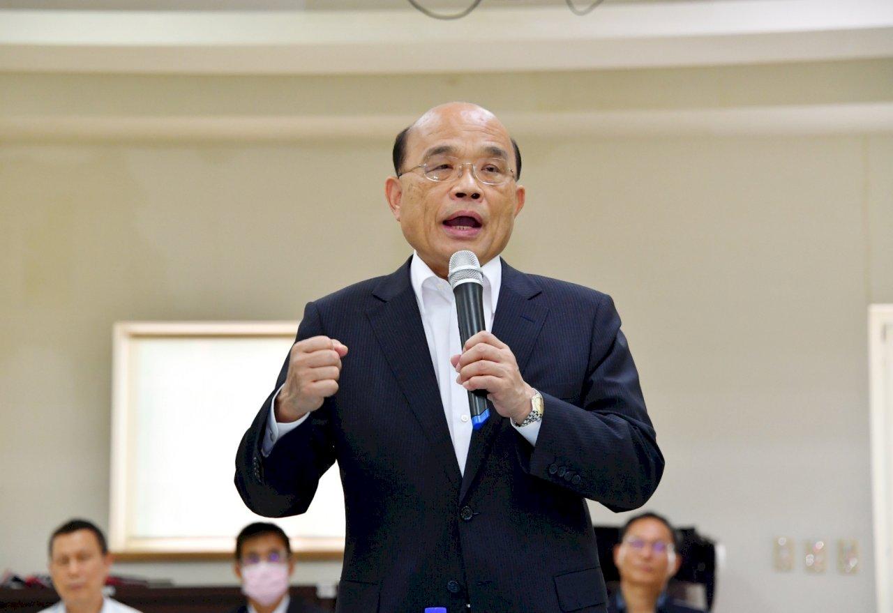 蘇貞昌:陳菊用生命走人權道路 蔡總統提名很用心