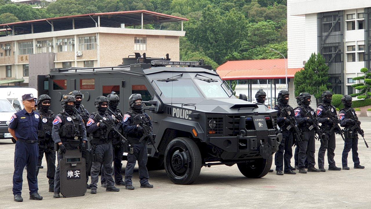 提升反恐裝備 警署引進「神鬼認證」裝甲車