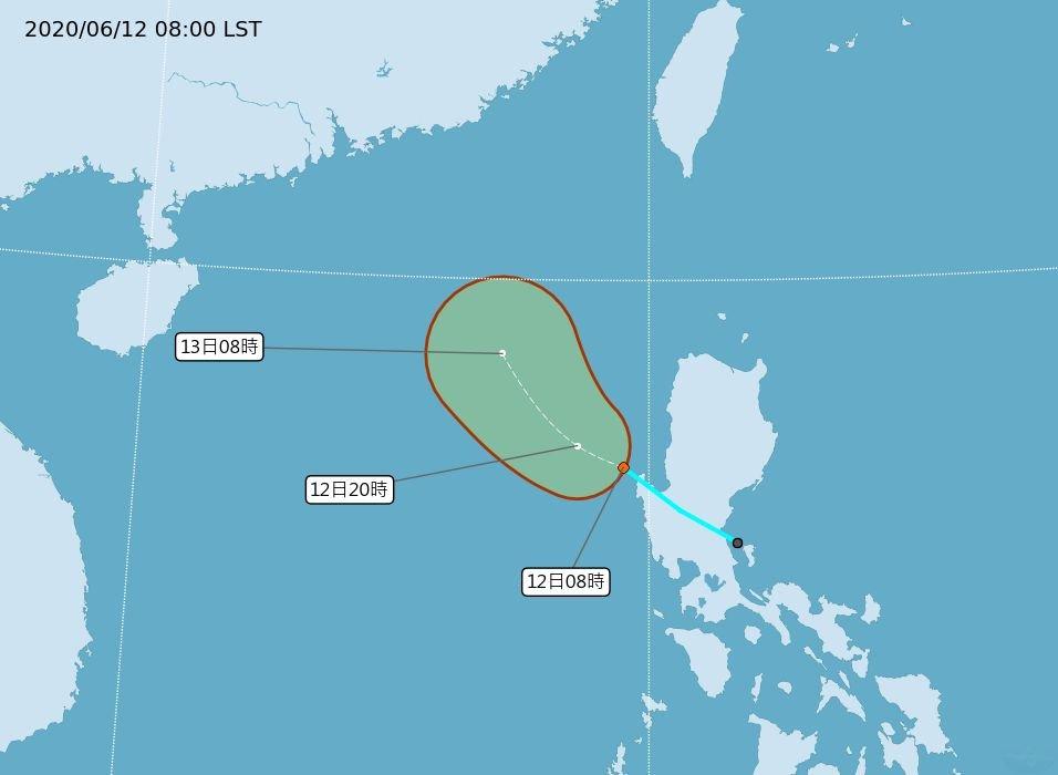 準颱「鸚鵡」估傍晚生成 南台灣將高燒37度