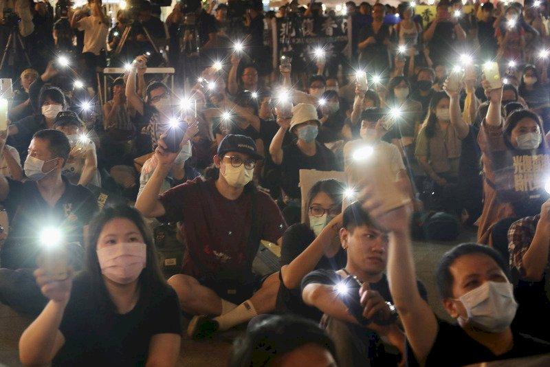 當港區國安法實施 台灣展開人道救援 在台港生感謝並自勵:勿忘在莒 光復香港