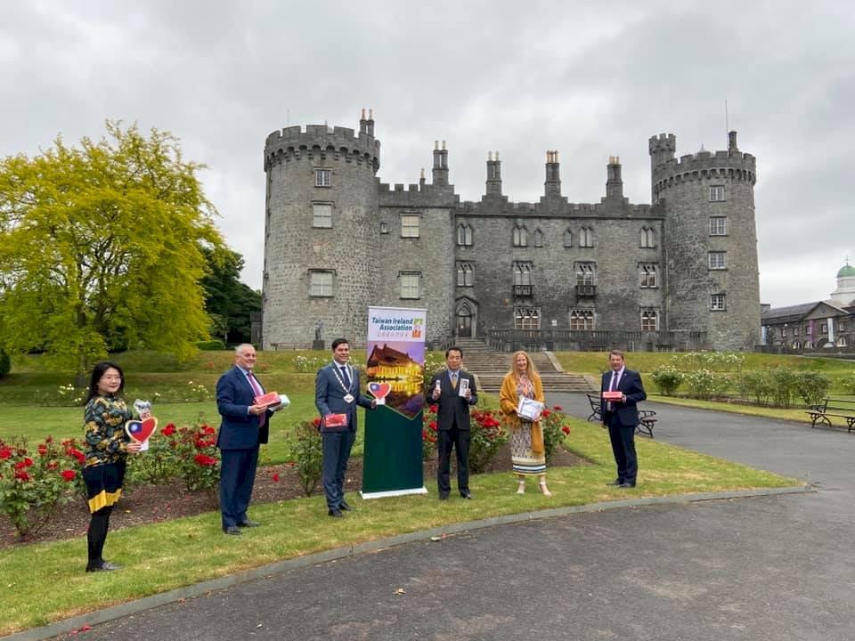 台灣僑社捐助防疫物資 助愛爾蘭恢復正常生活