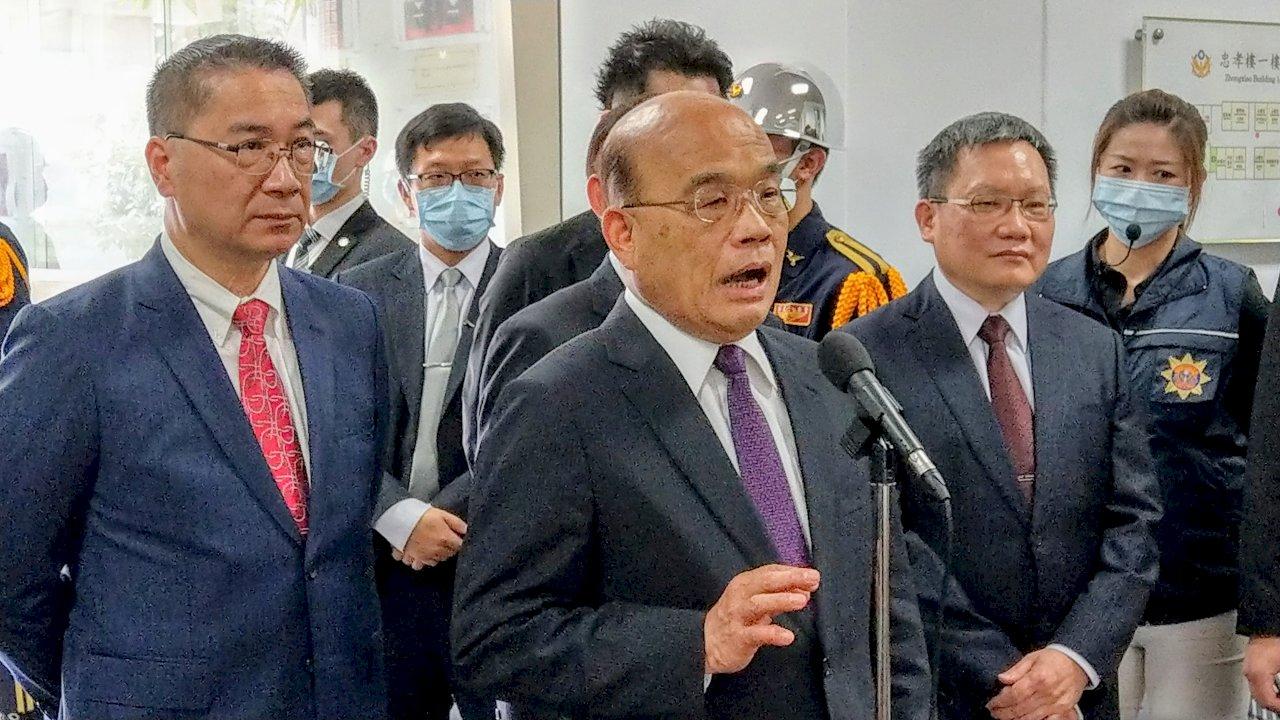日本擬將釣魚台改名 蘇揆:政府定護主權 但會做最好應對