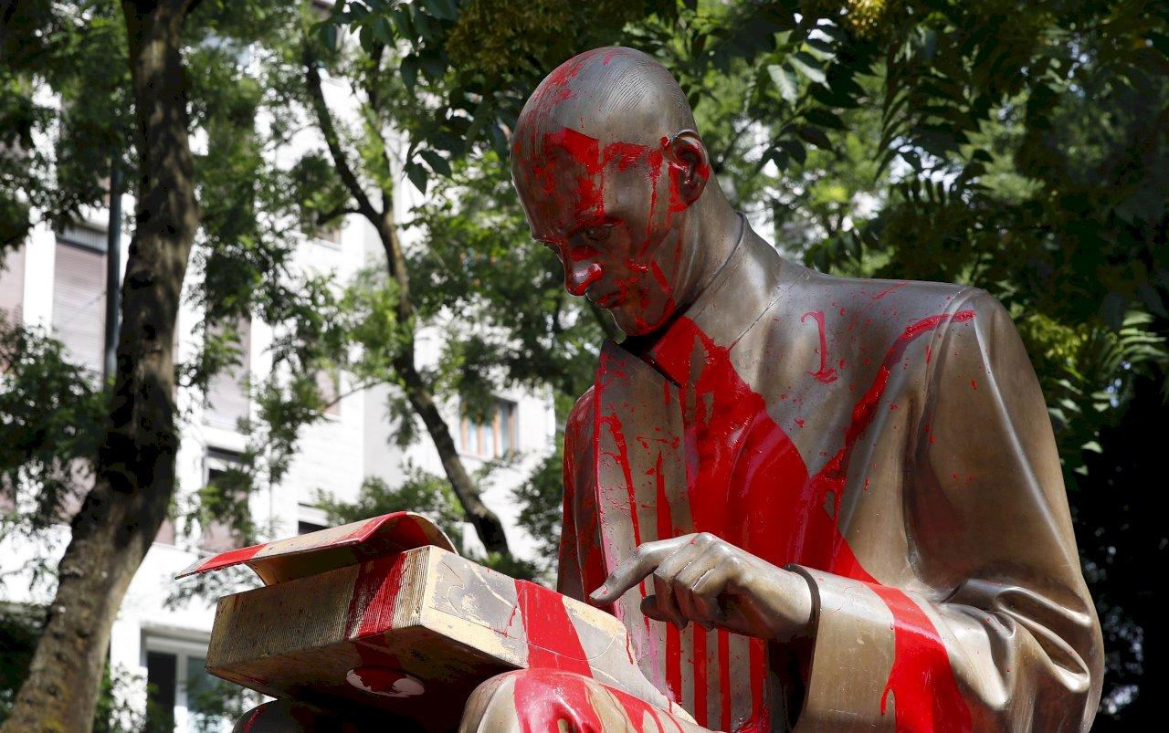 美非裔之死揭殖民傷疤 全球拆爭議雕像頻傳
