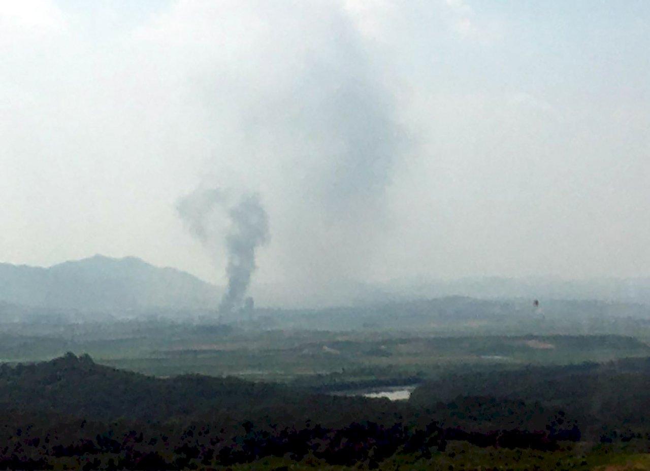開城兩韓聯絡辦公室遭炸 南韓統一部證實北韓炸毀
