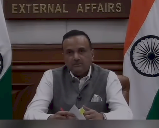印度外交部:中國加萬谷主權說站不住腳