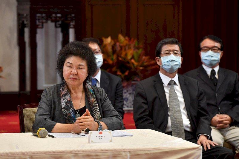 被提名為監察院長 陳菊:若獲立院同意 將退出政黨