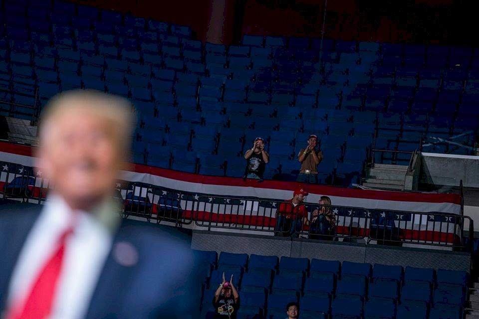 美總統大選逼近 川普6月競選大灑逾5千萬美元