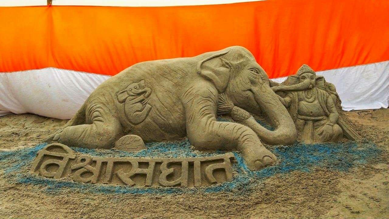 印度懷孕母象被炸死 全球藝術家以畫作聲援
