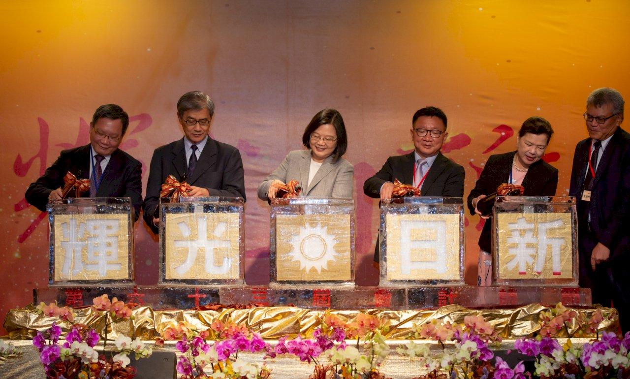 慶會計師節 總統盼助打造台灣成IPO首選