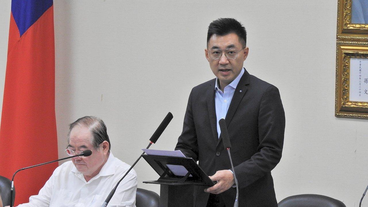 反對港區國安法管轄權擴張 江啟臣:中華民國獨立自主