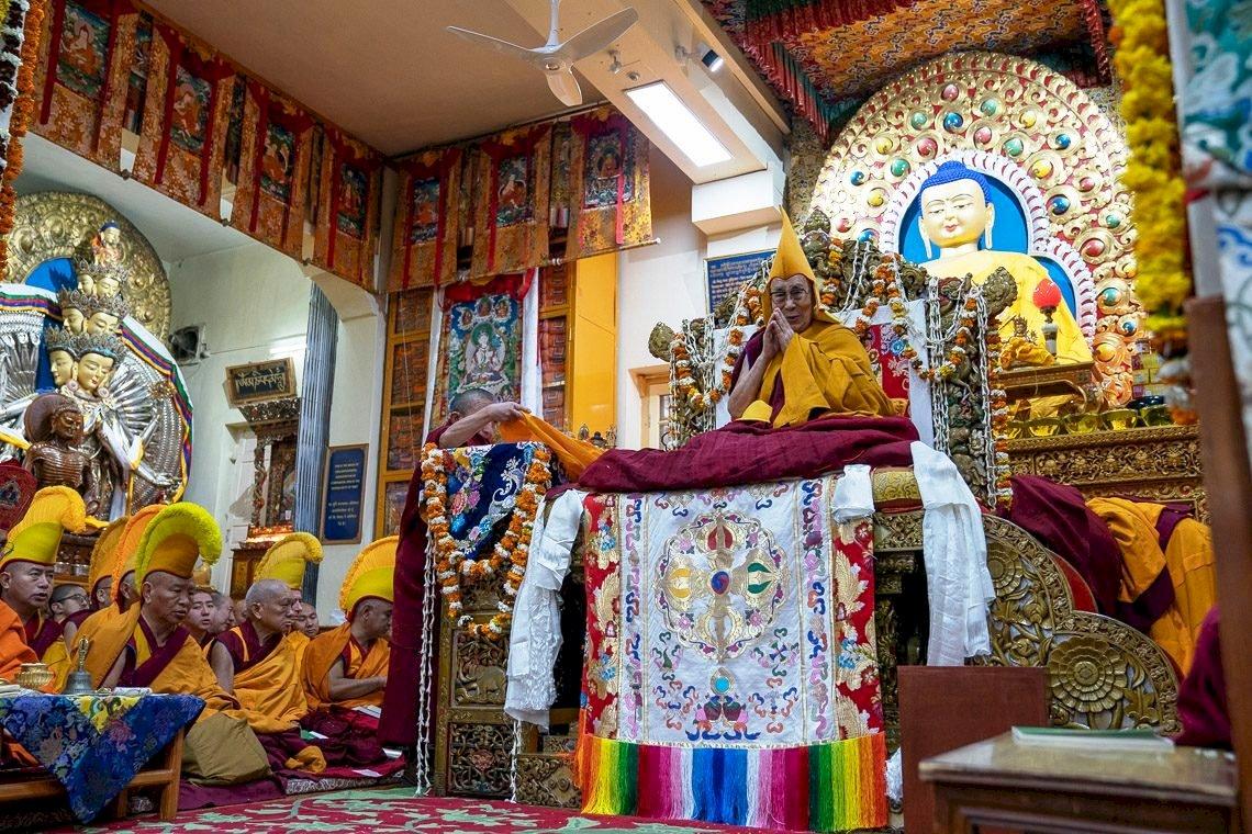 達賴喇嘛迎接85歲生日 將為台灣信徒祈福