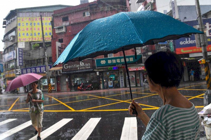 鋒面接近  新竹至台中今晚防大雨