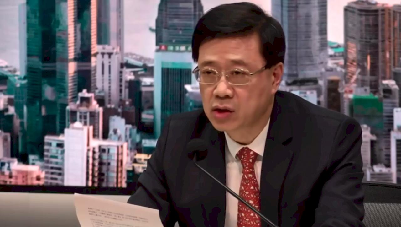 香港保安局長:警方合理相信 即可依國安法逮人