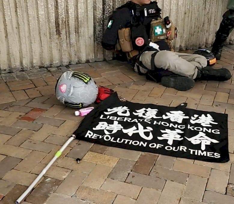 香港七一遊行 逾180人被捕 7人涉違國安法