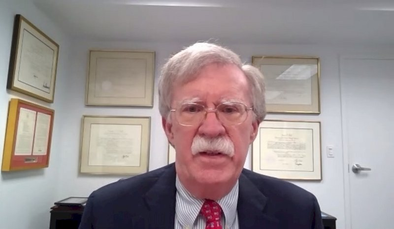 波頓籲美國全面外交承認台灣 加強對中國施壓
