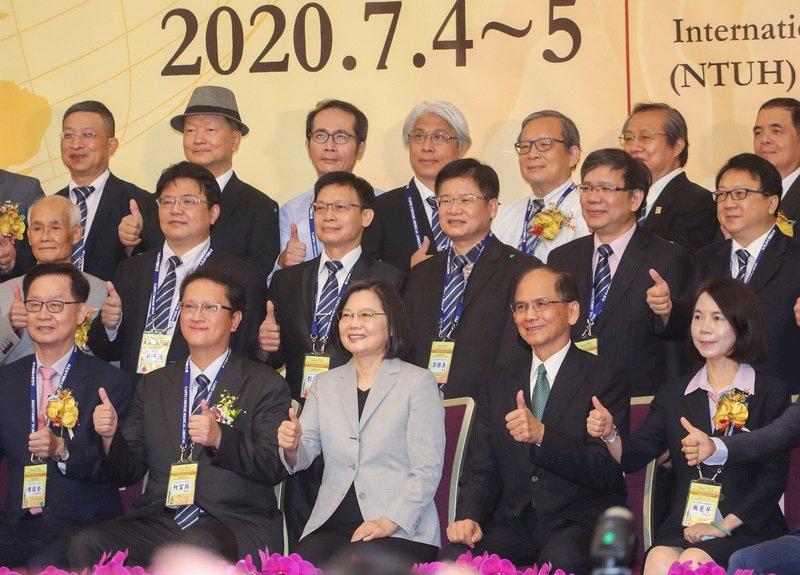國醫節大會 總統:推動中醫優質發展、拓展中藥國際市場