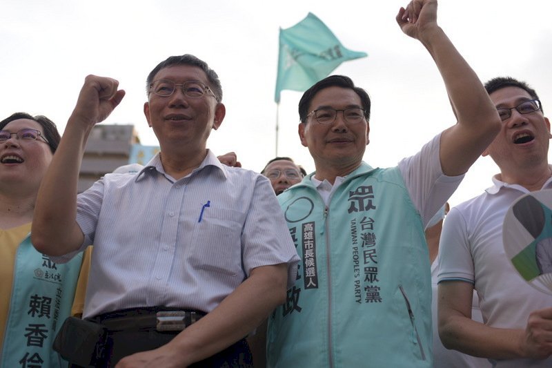 吳益政競總成立 柯文哲讚最適當市長參選人