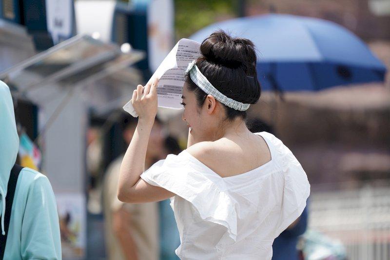 大學指考登場 天氣炎熱東南部焚風
