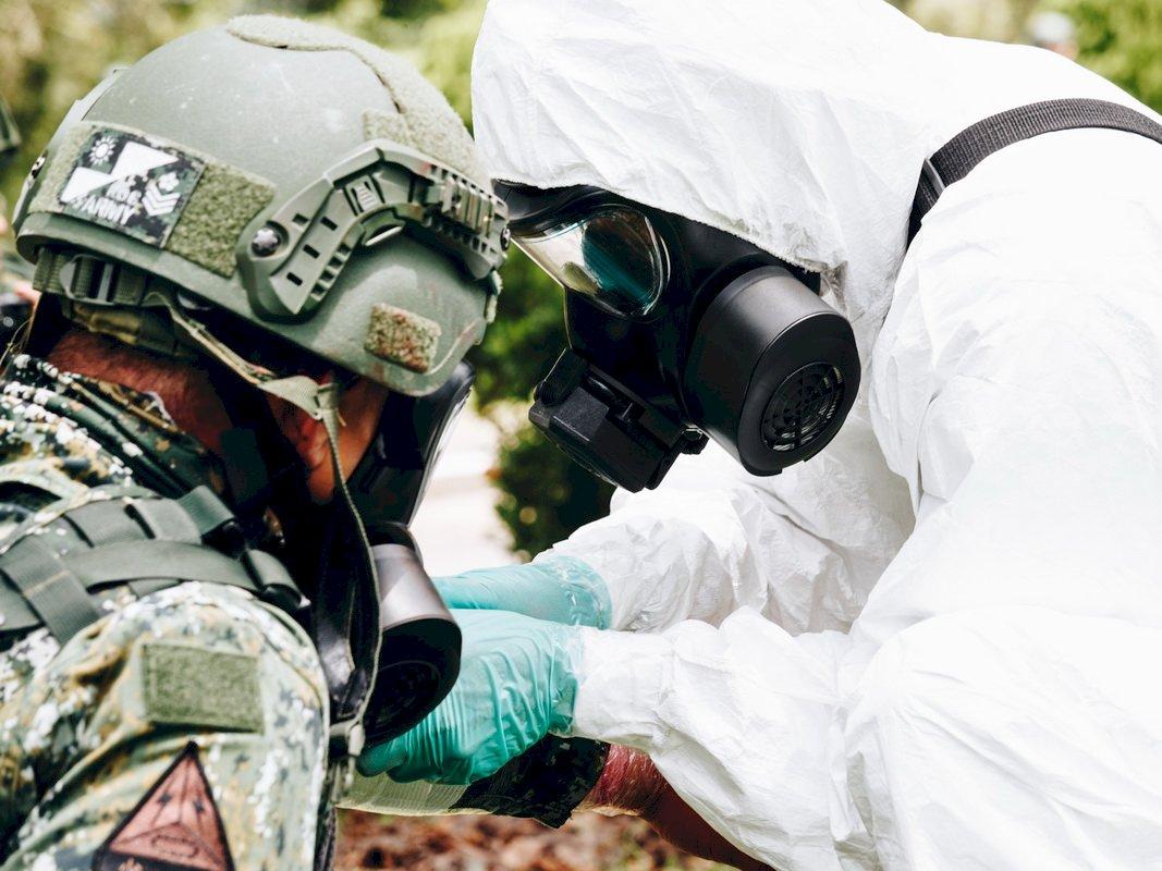 漢光演習今登場 化學兵 後備部隊投入操演