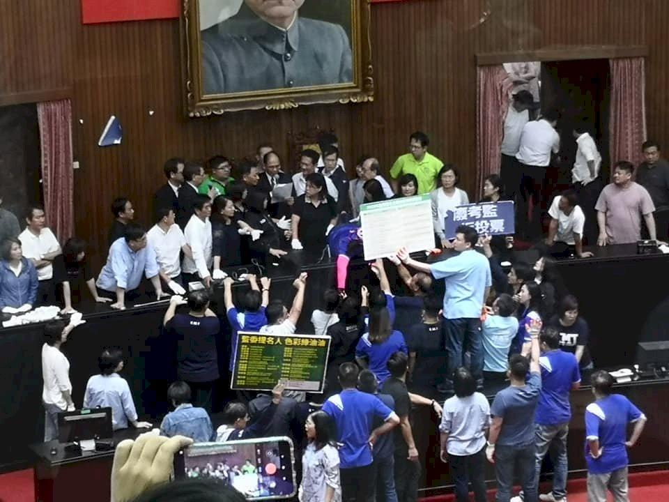 立院朝野衝突下 監委人事案提報明天院會表決