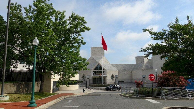 中國駐休士頓領館遭關閉 華府中使館未見異常