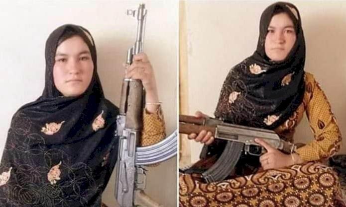 塔利班當面槍殺父母 阿富汗少女持步槍擊斃2暴徒