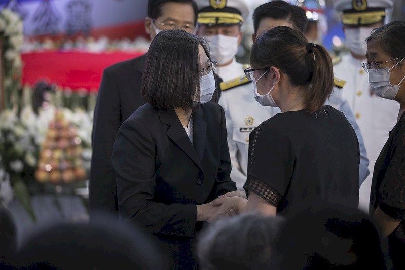 海軍陸戰隊殉職官兵公祭 總統親頒褒揚令