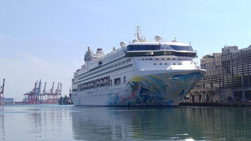 探索夢號開啟台灣郵輪跳島旅遊
