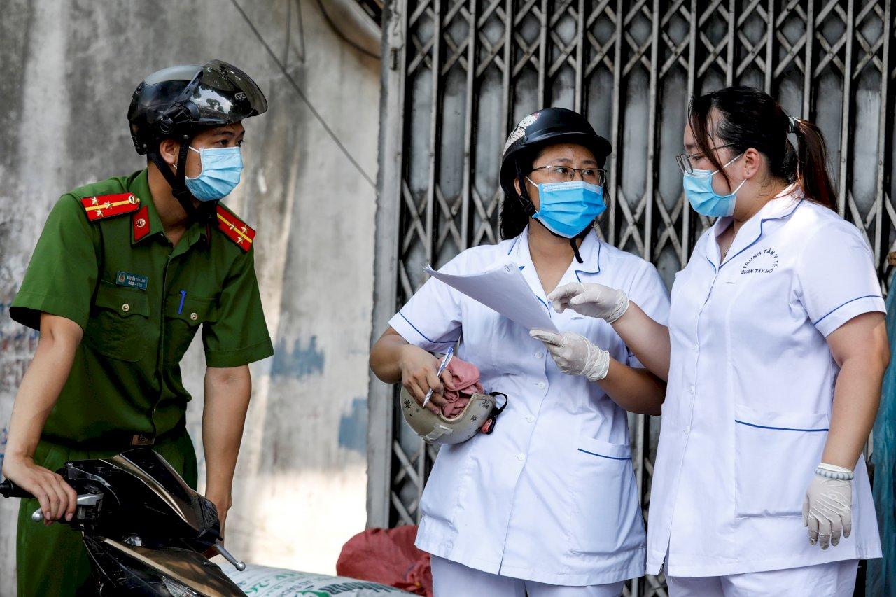 河內今起封城 越南1/3人口居家防疫