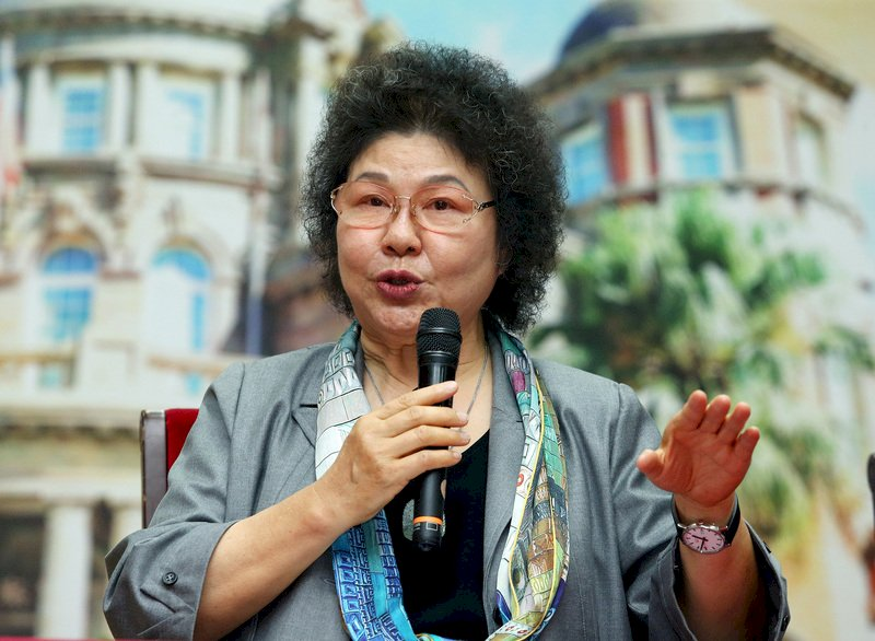 陳菊:譴責北京當局侵害香港新聞自由