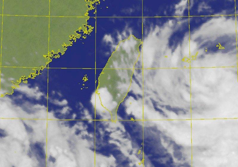 輕度颱風哈格比速度加快 3日雨勢最明顯
